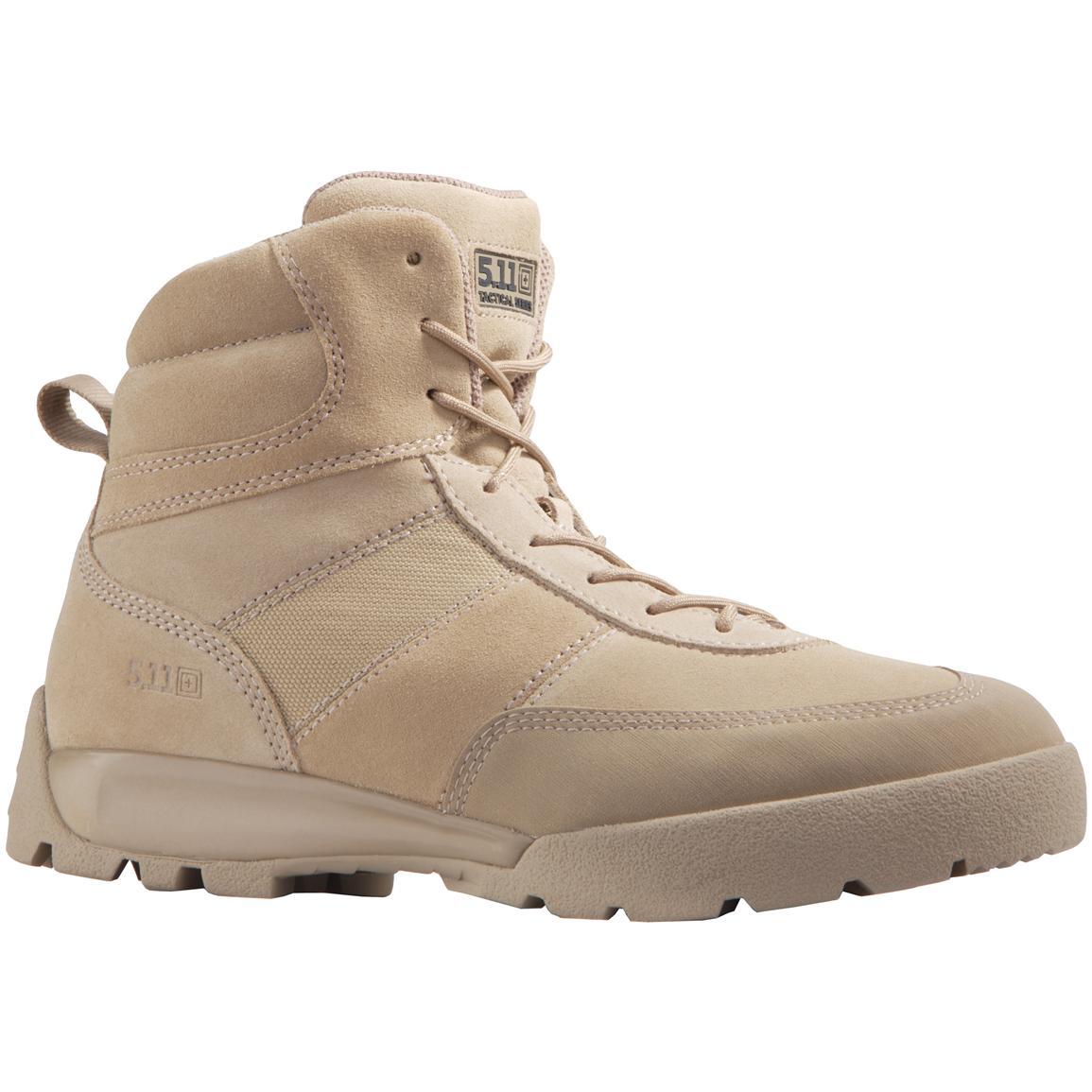 5 11 Tactical Atac 8 Side Zip Boot Tactical Blog