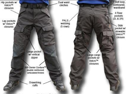Tactical Pants Range Master
